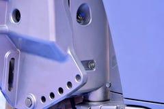 A presión la pieza mecánica de la fundición Imágenes de archivo libres de regalías