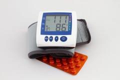 Medicina de la presión arterial Foto de archivo libre de regalías
