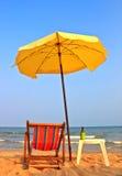 Presida en la playa 2 foto de archivo