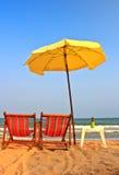 Presida en la playa 4 fotografía de archivo libre de regalías