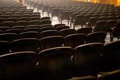 Preside a formação no local de encontro da conferência imagem de stock