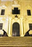 Presidencia del gobierno en La Valeta imagen de archivo libre de regalías