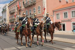 Presidencial Guards Royalty Free Stock Image
