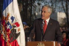 President av Chile fotografering för bildbyråer