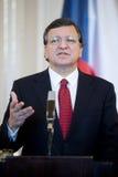 Jose Manuel Barroso arkivfoton