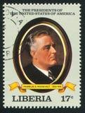 President av Förenta staterna Roosevelt royaltyfri fotografi
