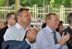 President av Ukraina Leonid Kuchma Royaltyfri Foto