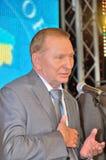 President av Ukraina Leonid Kuchma Royaltyfri Bild
