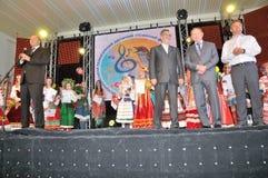 President av Ukraina Leonid Kuchma Arkivbild