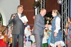 President av Ukraina Leonid Kuchma Fotografering för Bildbyråer