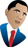 President Barack Obama. Vector Illustration of President Barack Obama, the first African American President Jan 21, 2009. Can be used for February Black History vector illustration
