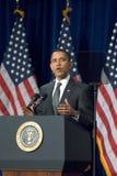 President Barack Obama in Arizona Stock Images