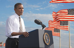 President Barack Obama Stock Photography