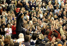President Barack Obama in Denver Stock Foto