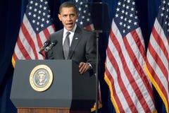President Barack Obama i Arizona Arkivfoton