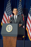 President Barack Obama i Arizona Arkivfoto