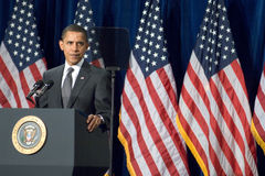 President Barack Obama i Arizona Arkivbild