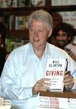 President Bill Clinton Book Signing arkivbild