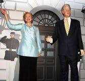 President Bill Clinton and Hillary Clinton Stock Photos