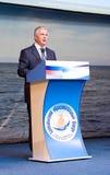 President of Buryatia Royalty Free Stock Photography