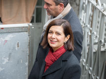 The president of the Chamber Boldrini visit Scampia - Italy Stock Images