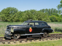 President of CP Rail 1947 Cadillac Stock Image