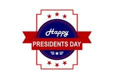 President day, america logo vector royalty free illustration