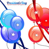 President Day Balloons Royalty Free Stock Photo
