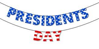President day Royalty Free Stock Photos