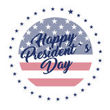 President day illustration Stock Image