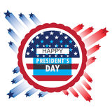 President day illustration Stock Photos