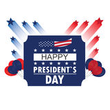 President day illustration Royalty Free Stock Images