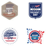 President day illustrations Royalty Free Stock Photos