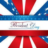 President Day in United States of America with colorful Royalty Free Stock Image