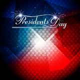 President Day in United States of America with colorful  Royalty Free Stock Photo