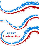 President Day in United States of America with colorful Royalty Free Stock Photos
