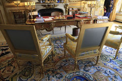 President desk Palais de l'Elysee, Paris, Royalty Free Stock Images