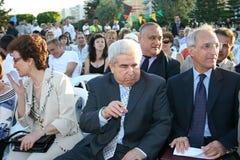 President Dimitris Christofias Stock Foto