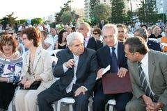 President Dimitris Christofias Royalty Free Stock Photo