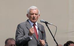 President of EU Jerzy Buzek Stock Photo