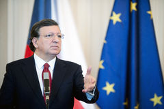 Jose Manuel Barroso Royalty Free Stock Images