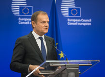 President of the European Council Donald Tusk Royalty Free Stock Image