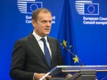 President of the European Council Donald Tusk Stock Photography