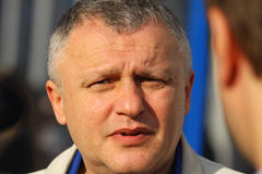 The President of FC Dynamo Kyiv Igor Surkis Royalty Free Stock Image