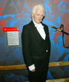 President FJames Buchanan. White-haired distinguished James Buchanan, a Pennsylvanian and 15th president of the United States is resurrected as a life-sized Stock Images