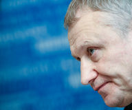 President of the Football Federation of Ukraine Grigory Surkis Stock Images