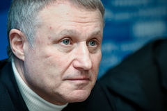 President of the Football Federation of Ukraine Grigory Surkis Royalty Free Stock Images