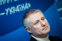 President of the Football Federation of Ukraine Grigory Surkis Stock Image