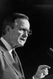 President George H.W. Bush. 41st President of United States. Stock Photos