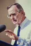 President George H.W. Bush. 41st President of United States. Stock Images